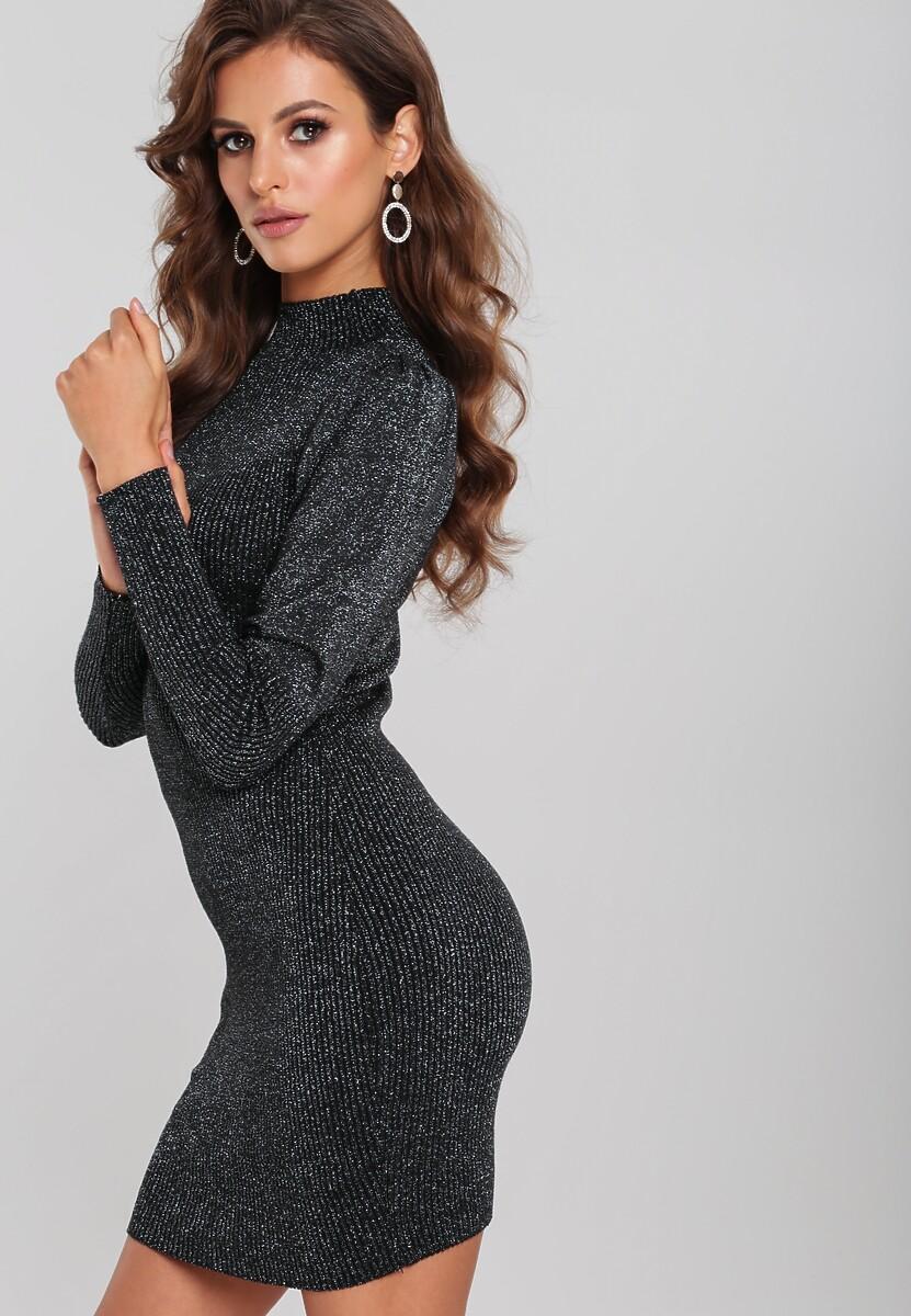 Czarno-Srebrna Sukienka Westin Kod produktu: 109964