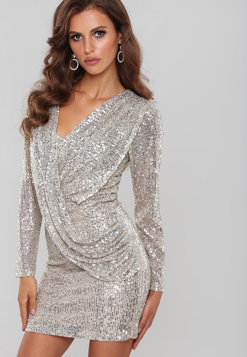 Beżowa Sukienka Bartlett