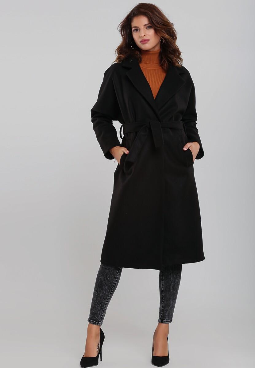 Czarny Płaszcz Avent