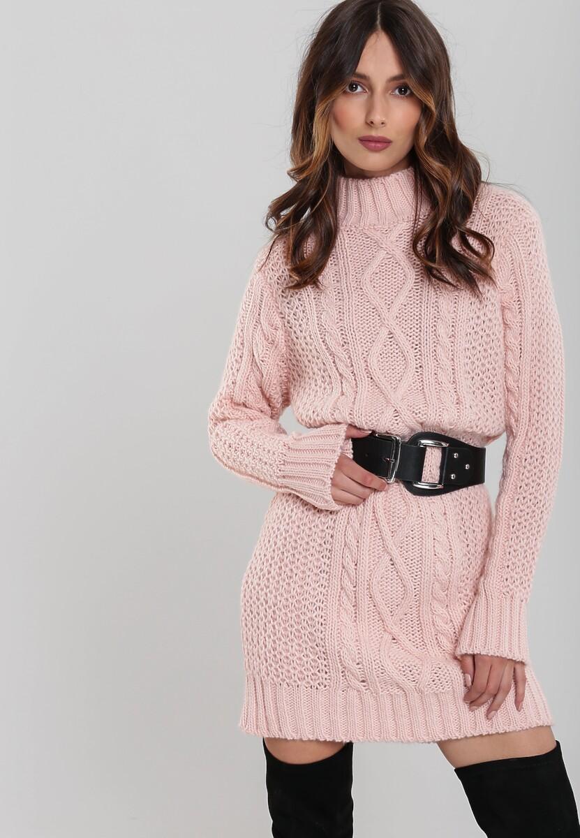 Różowa Sukienka Westside