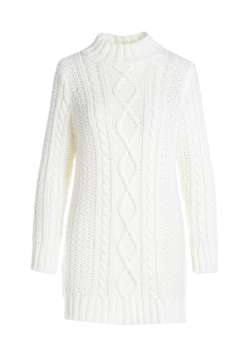 Biała Sukienka Westside
