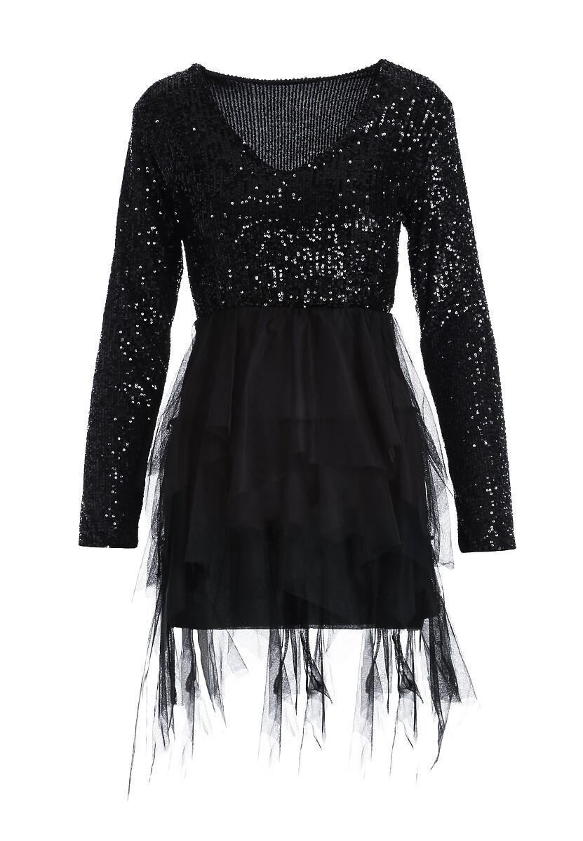 Czarna Sukienka Burrville
