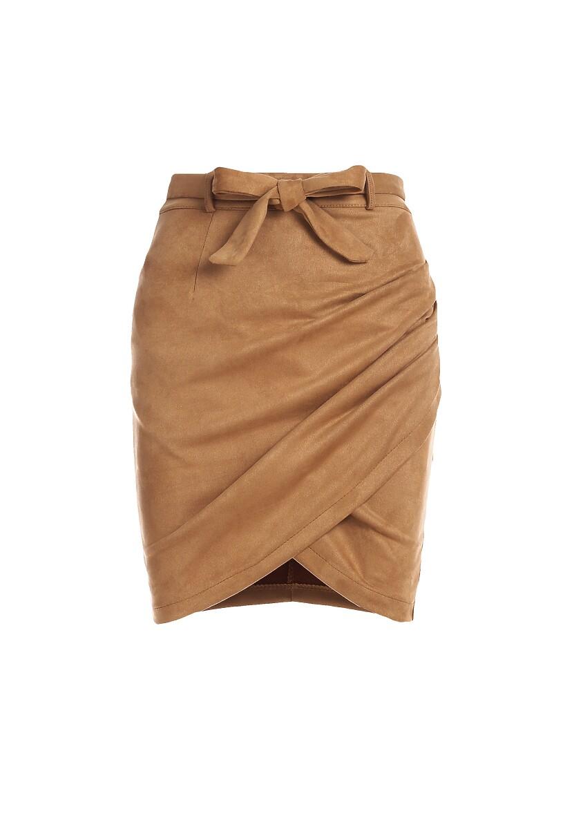 Camelowa Spódnica Ishaan