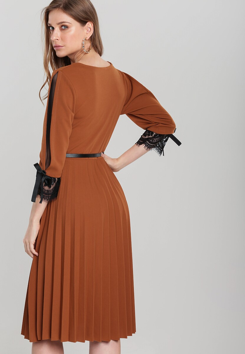 Camelowa Sukienka Rayner