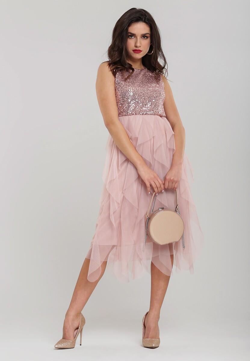 Różowa Sukienka Jennings