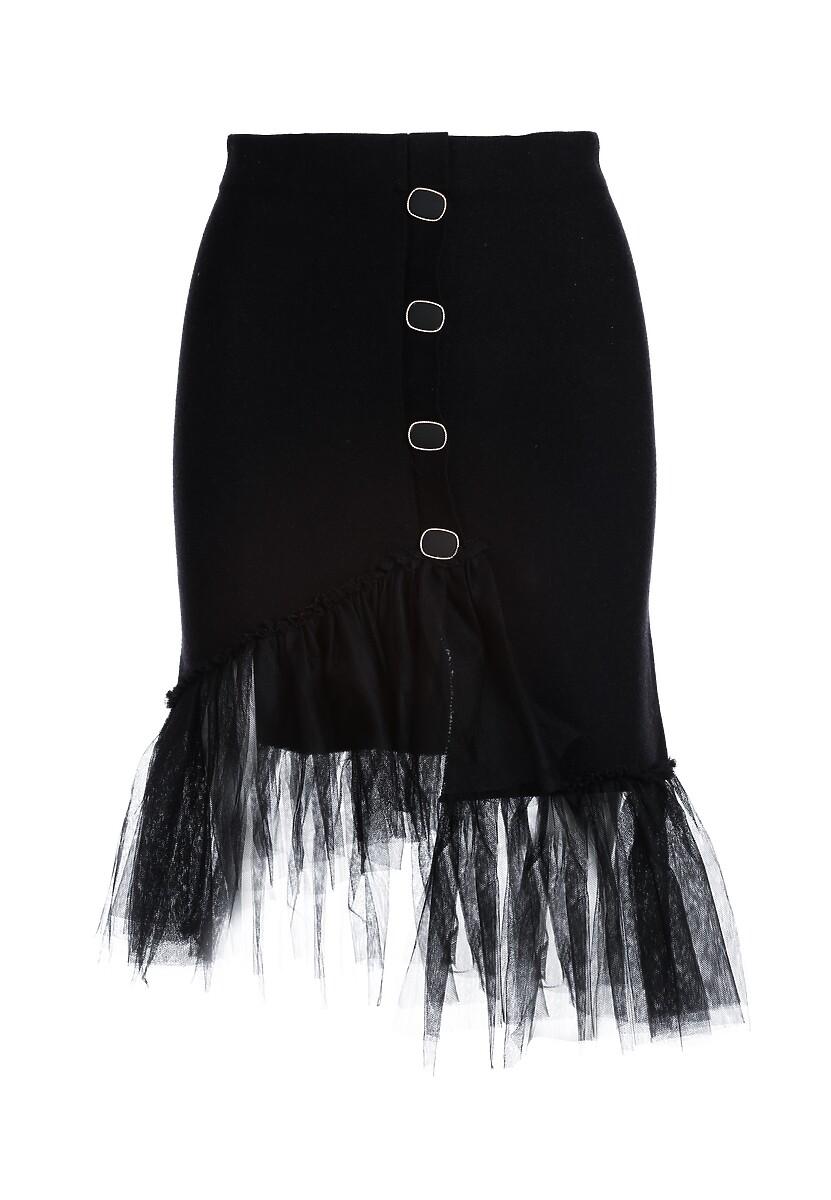 Czarna Spódnica Seymour