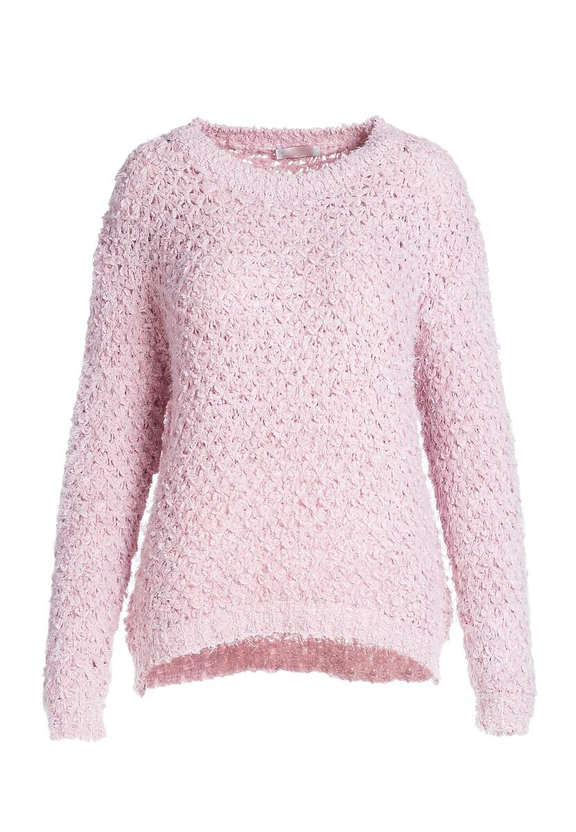 Różowy Sweter Amalie