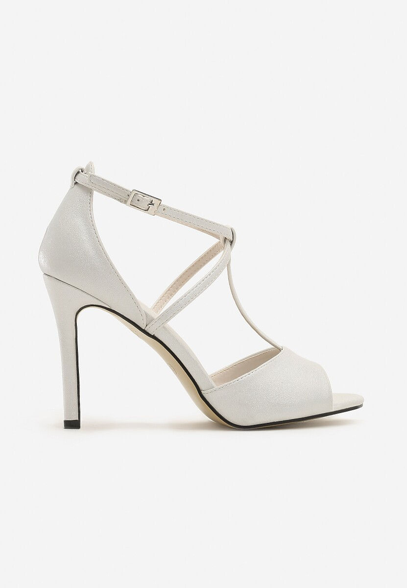 Białe Sandały Shyla