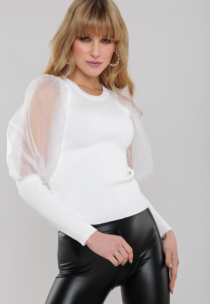 Biały Sweter Deniz