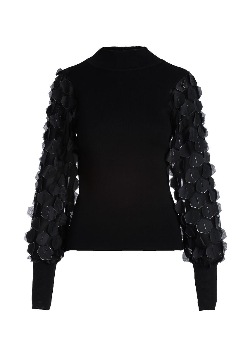 Czarny Sweter Floyd