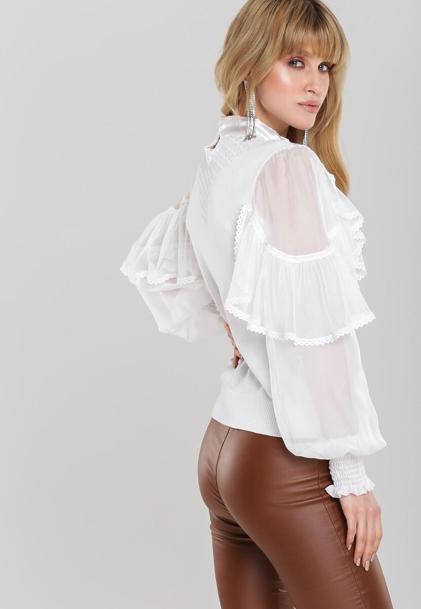 Biała Bluzka Nicolle