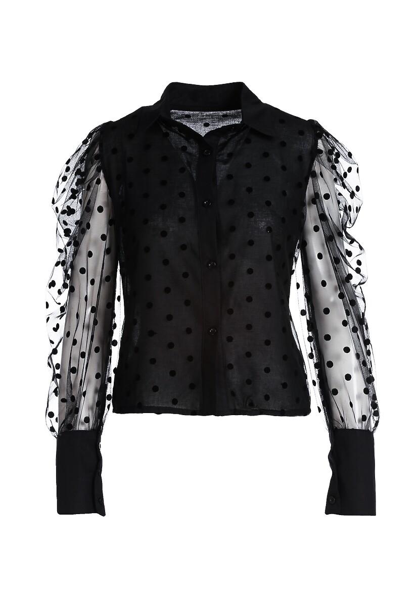 Czarna Koszula Chyna