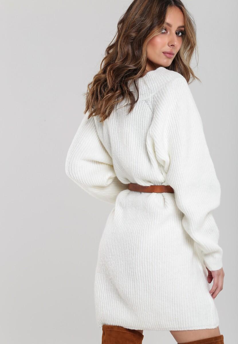 Biała Sukienka Navarro