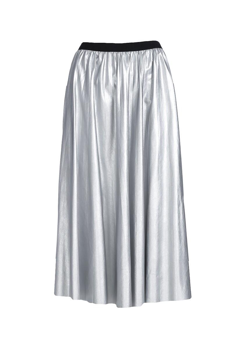 Srebrna Spódnica Isadora