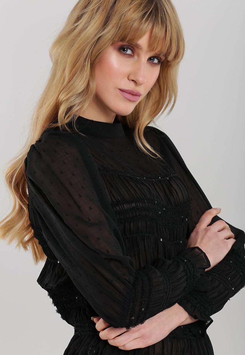 Czarna Bluzka Layan