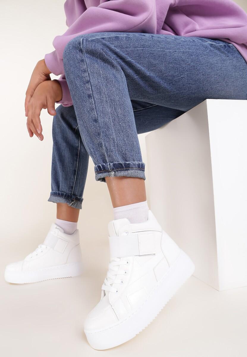 Białe Sneakersy Rivka