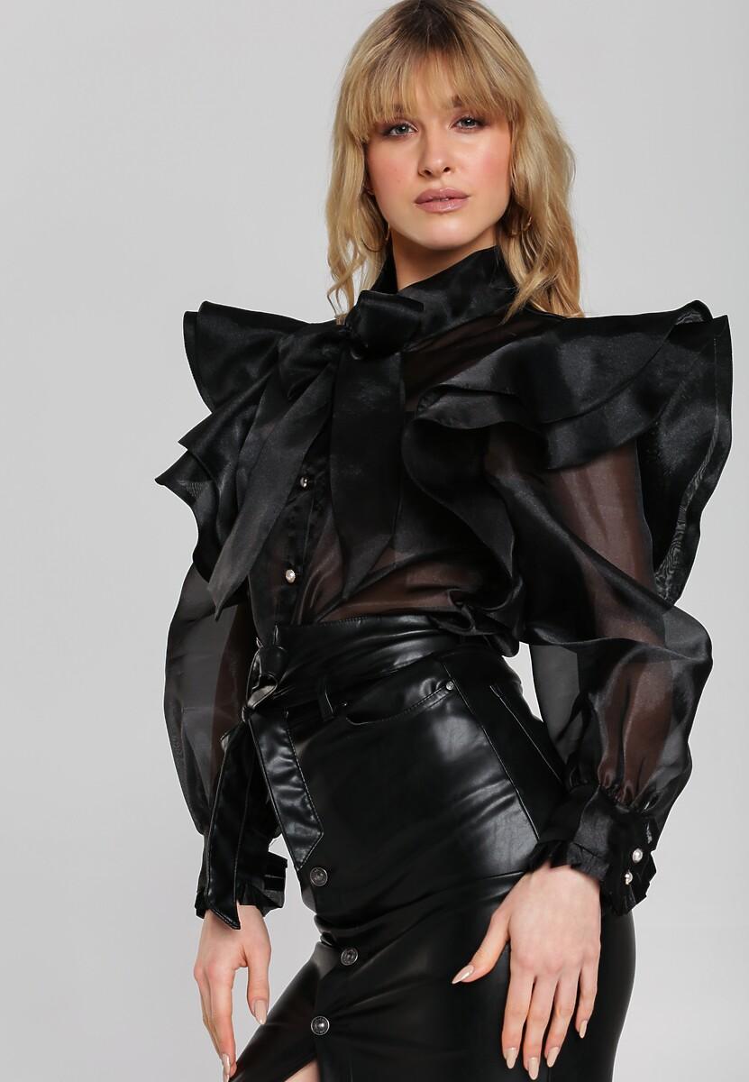 Czarna Koszula Chelsey