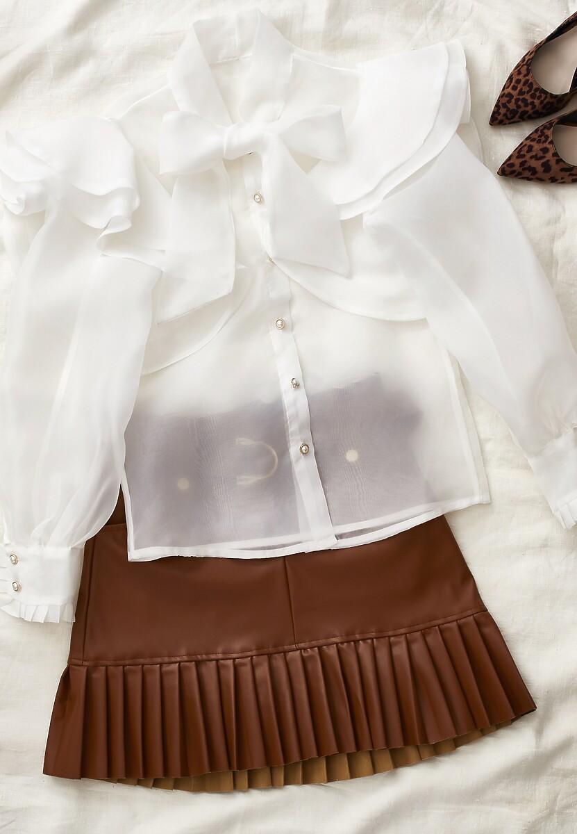 Biała Koszula Chelsey