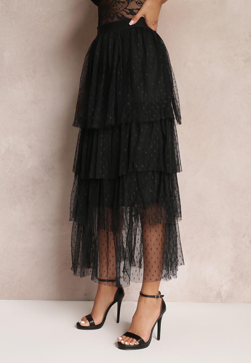 Czarna Spódnica Madelaine