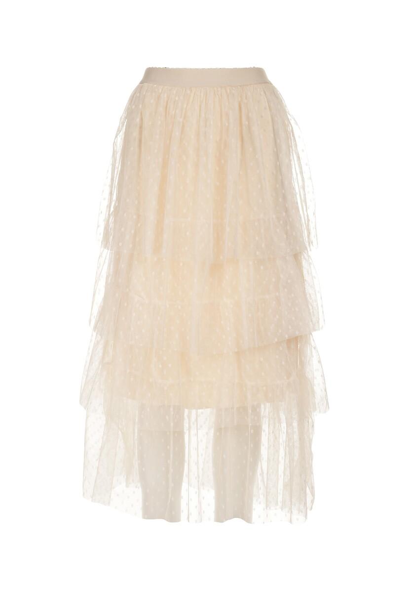 Beżowa Spódnica Madelaine
