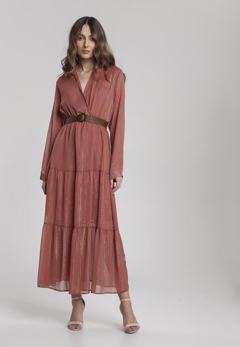 Łososiowa Sukienka Driscoll