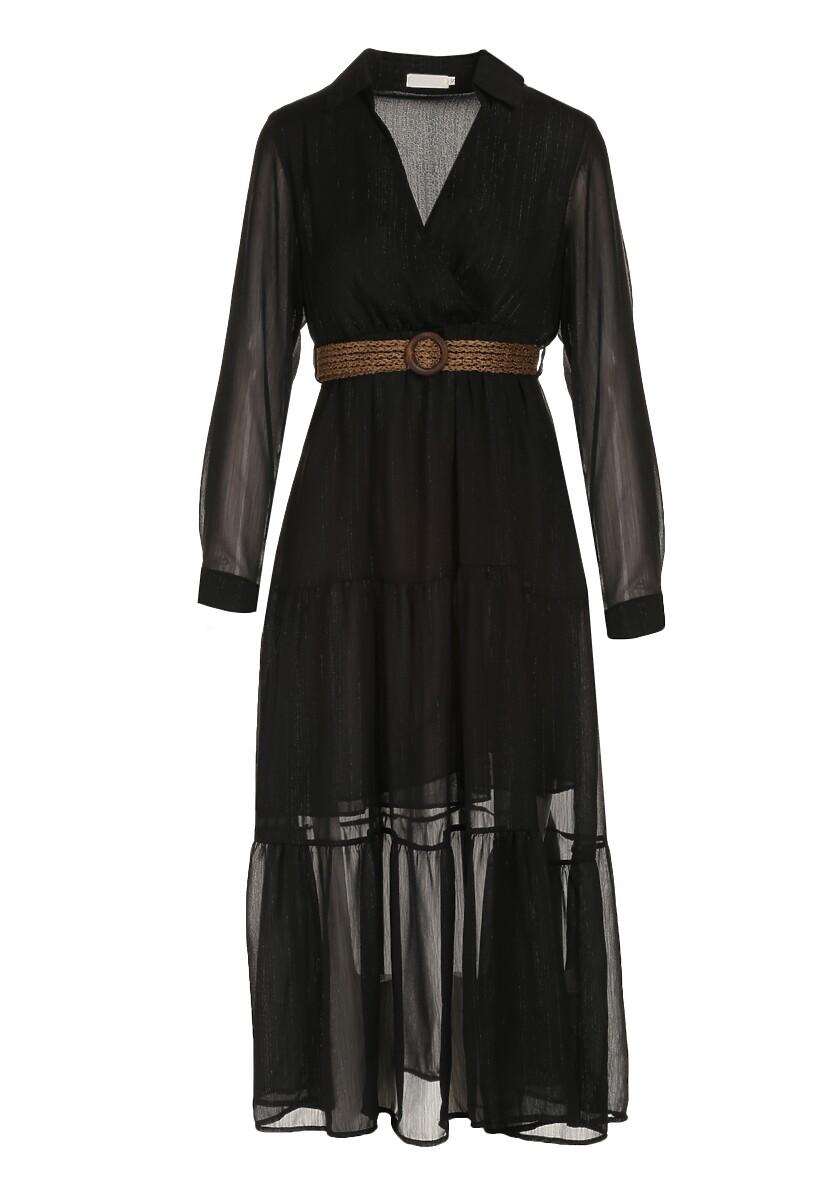 Czarna Sukienka Driscoll