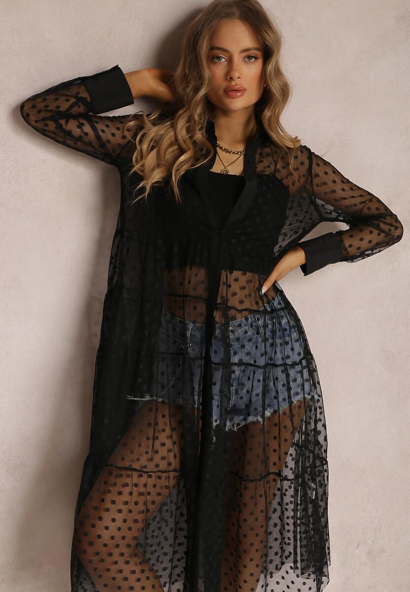 Czarna Sukienka Faizah
