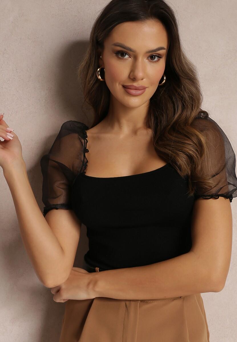 Czarna Bluzka Avani