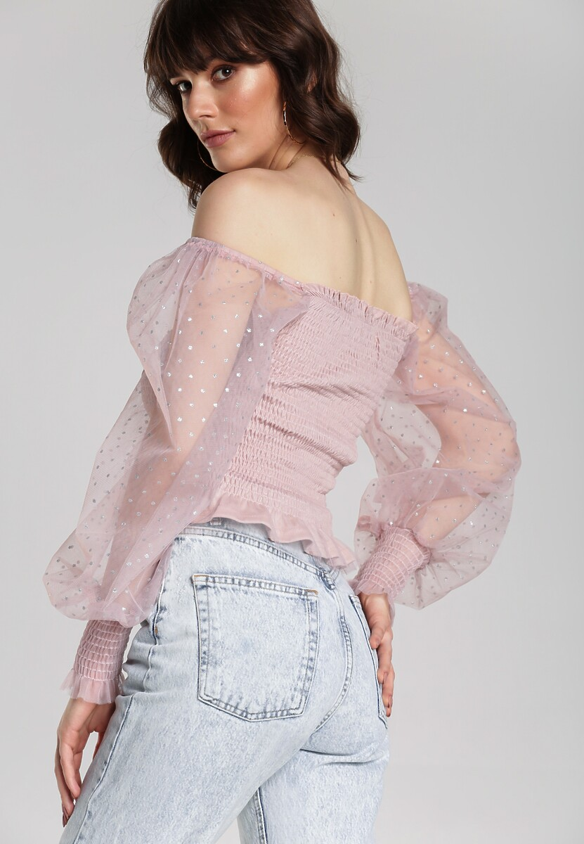 Różowa Bluzka Mahi