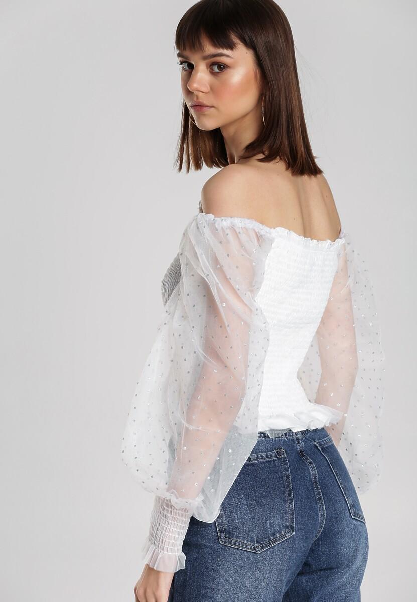 Biała Bluzka Mahi