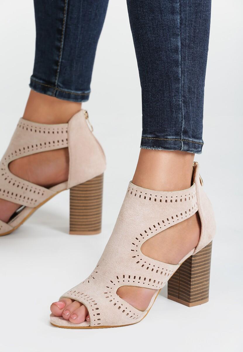 Beżowe Sandały Simmons