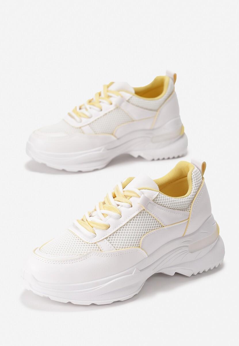 Żółte Sneakersy Malaikah