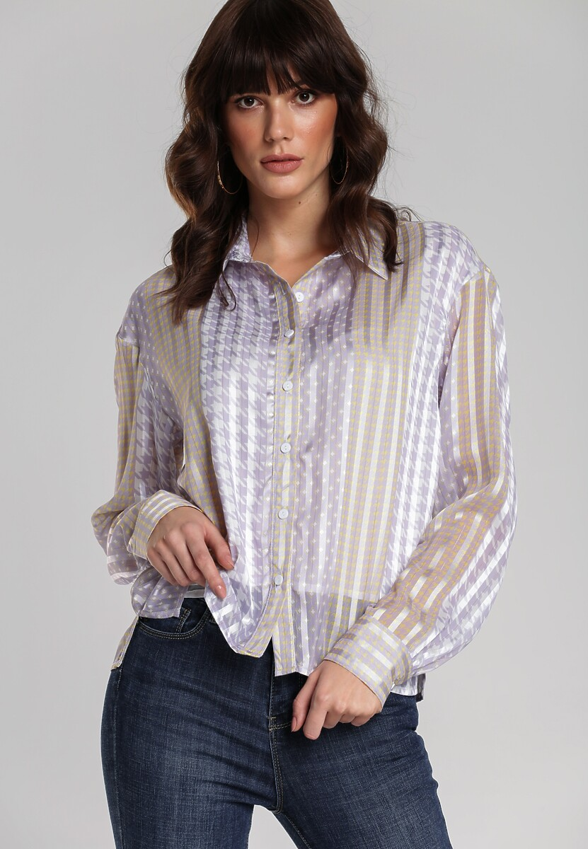 Jasnofioletowa Koszula Searle
