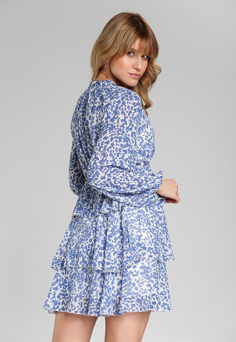 Niebieska Sukienka Mcknight