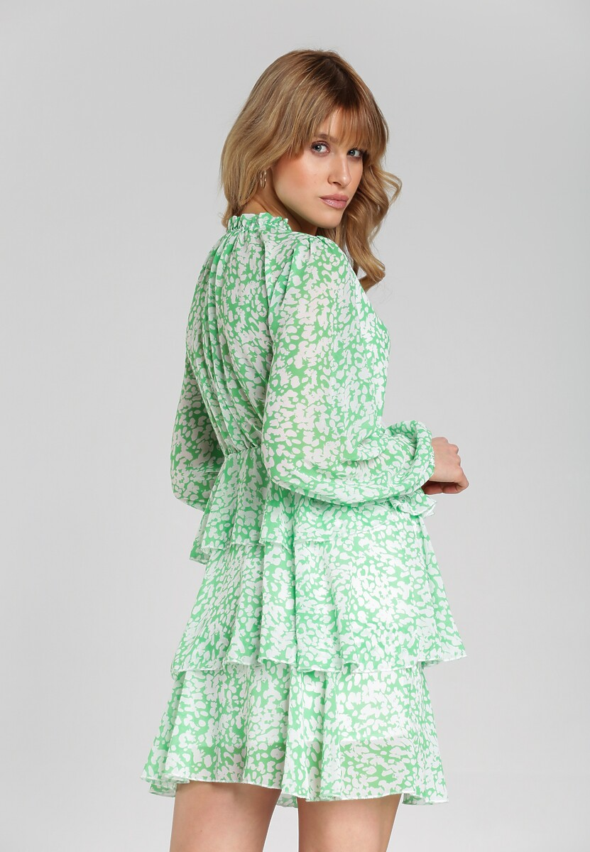 Miętowa Sukienka Mcknight