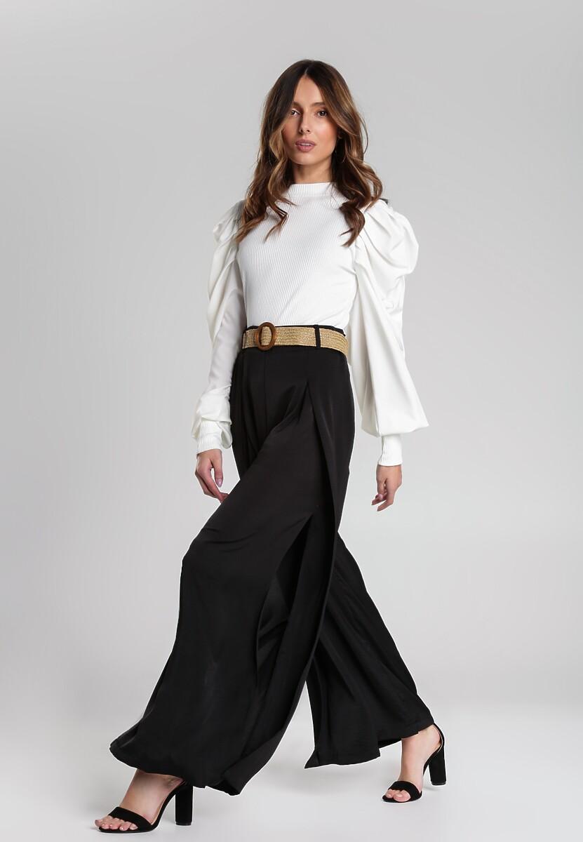 Czarne Spodnie Maiya