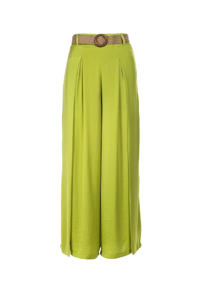 Limonkowe Spodnie Maiya