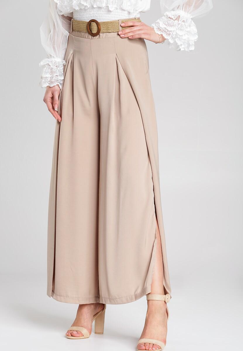 Beżowe Spodnie Maiya