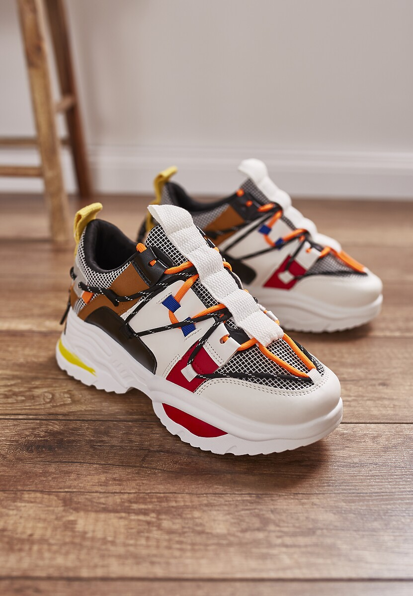 Białe Sneakersy Cochran