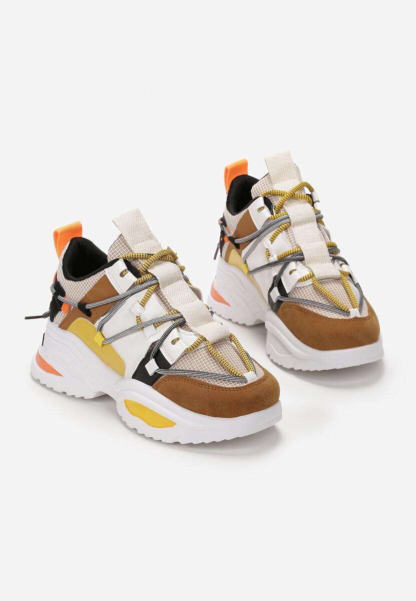 Żółte Sneakersy Cochran
