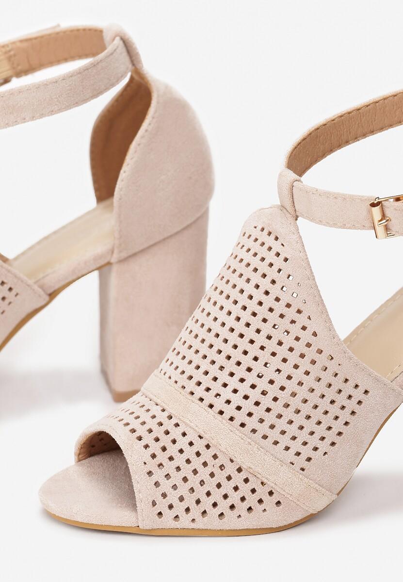 Beżowe Sandały Aalia