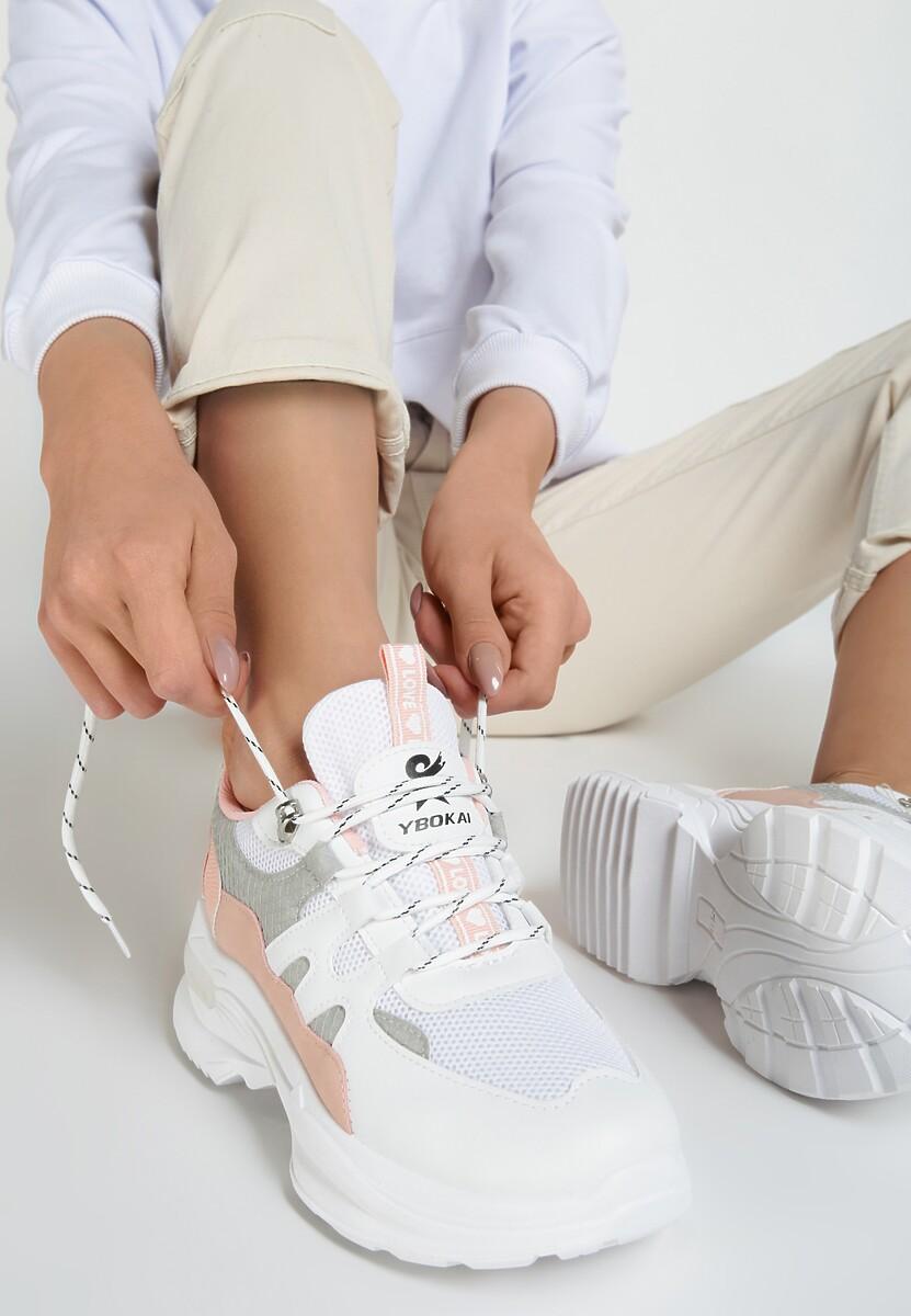 Białe Sneakersy Hendrix