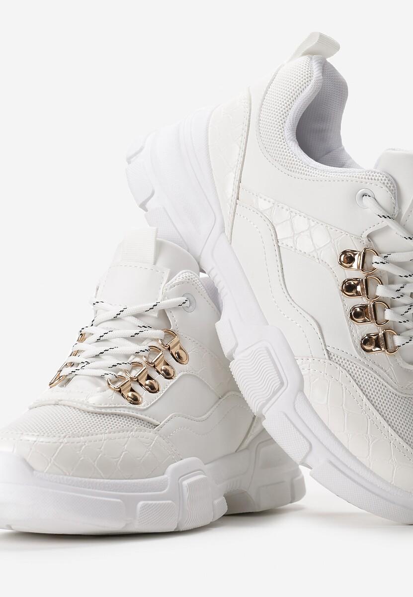 Białe Sneakersy Blundell