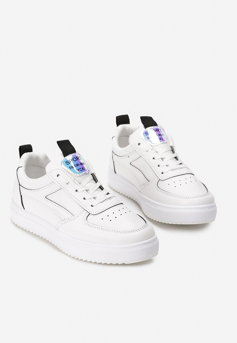 Biało-Czarne Sneakersy Fatma