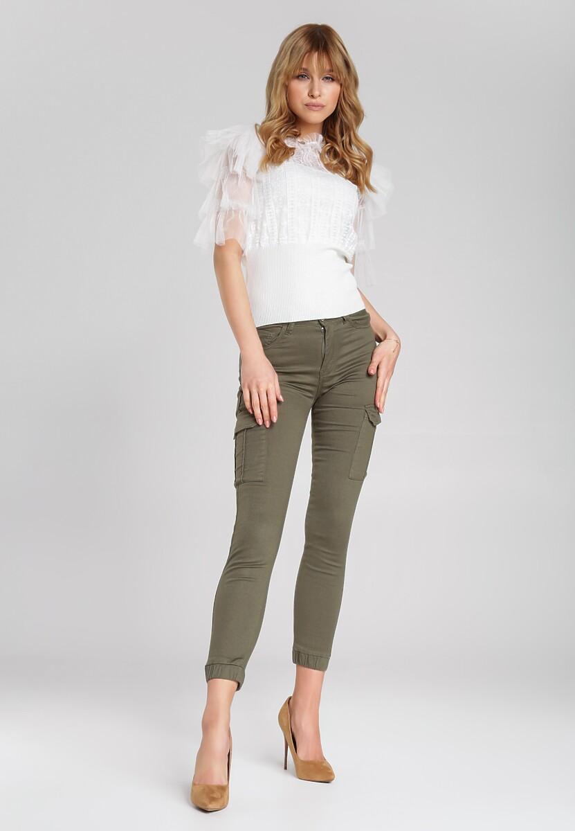 Zielone Spodnie Anayah