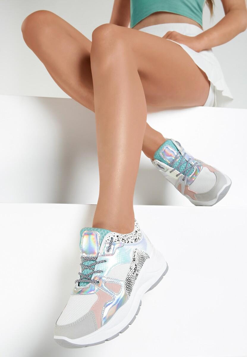 Gioseppo NARBOLIA - Sneakersy niskie - silver