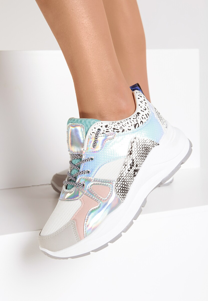 Białe Sneakersy Chanice