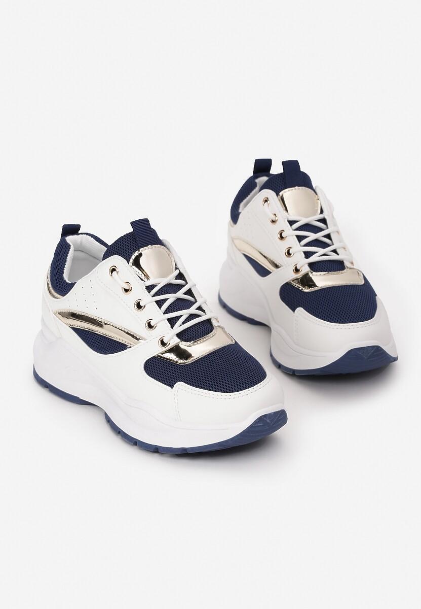 Granatowe Sneakersy Pollard