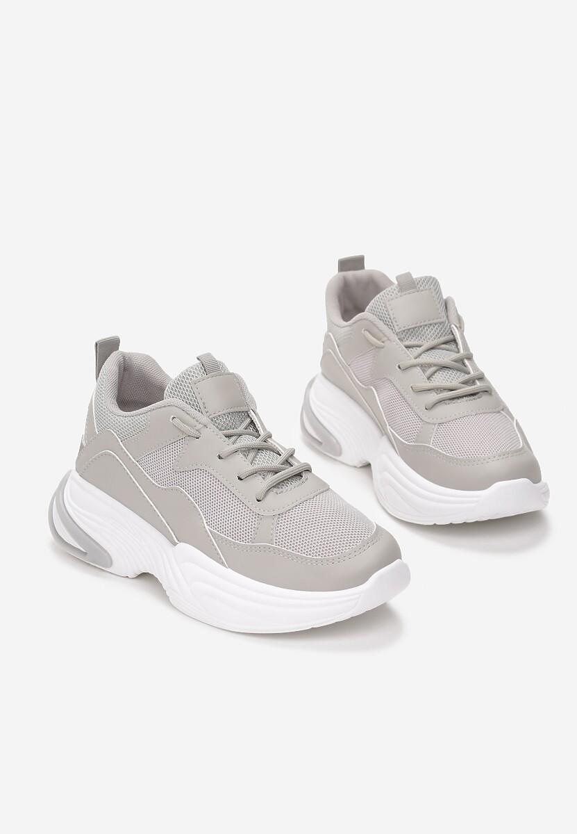 Szare Sneakersy Fowler