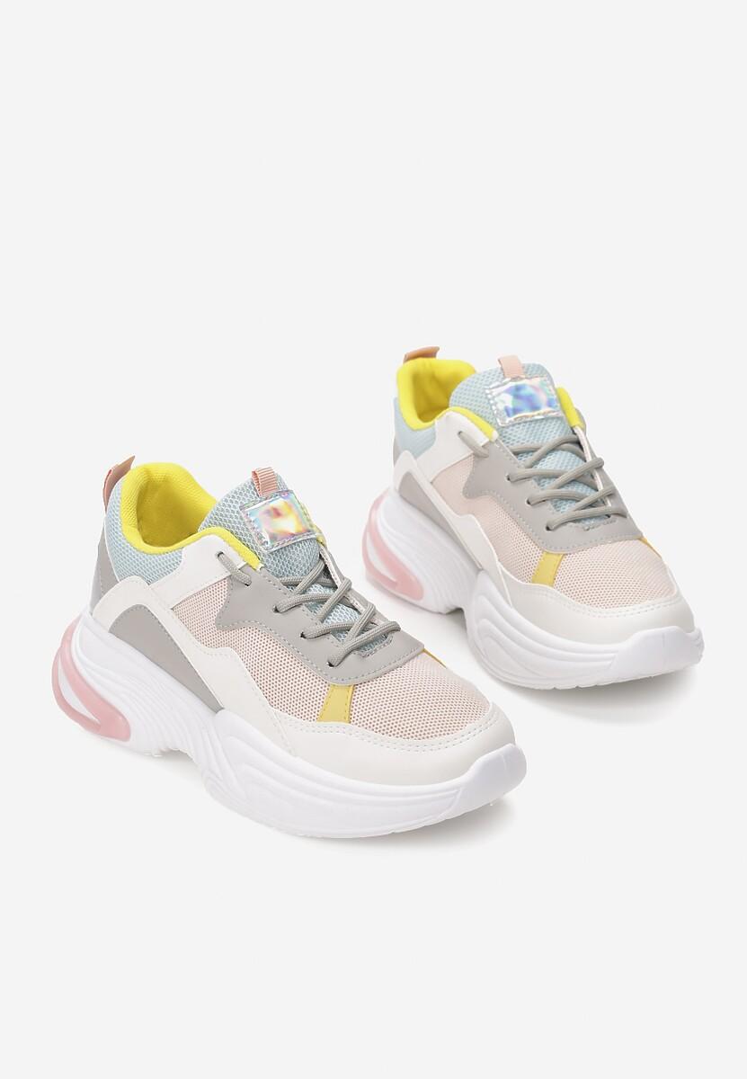 Różowe Sneakersy Fowler